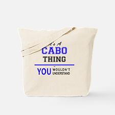 Unique Cabo Tote Bag