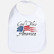 God Bless America v2 Bib