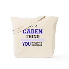 Cute Caden Tote Bag
