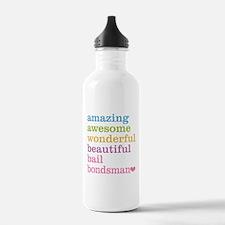 Bail Bondsman Water Bottle