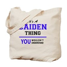 Cute Caiden Tote Bag