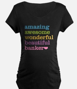 Awesome Banker T-Shirt