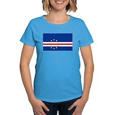 Cape Verde Flag Tee