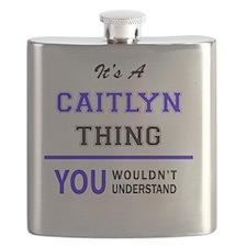 Cute Caitlyn Flask