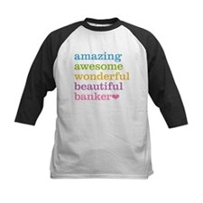 Awesome Banker Baseball Jersey