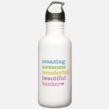 Awesome Banker Water Bottle