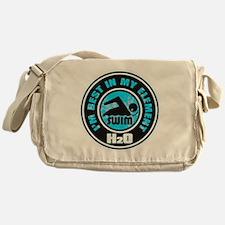 H2O_SWIMMER Messenger Bag