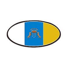 Islas Canarias flag Patches