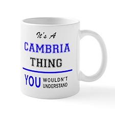 Unique Cambria Mug