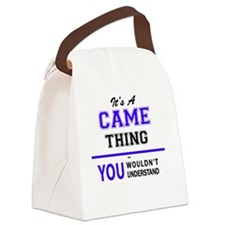 Cute Came Canvas Lunch Bag