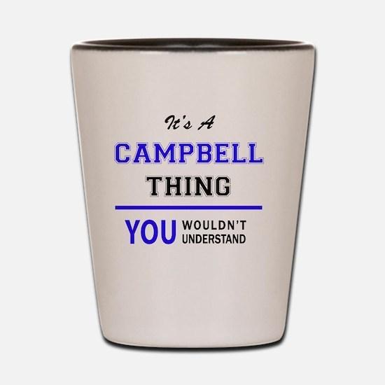 Unique Campbell Shot Glass
