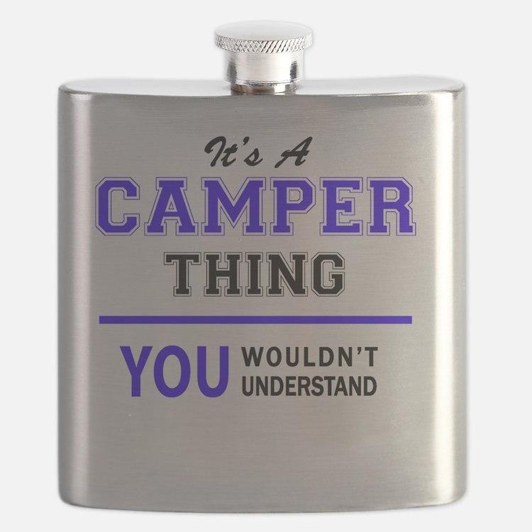 Cute Camper Flask