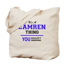 Cute Camren Tote Bag