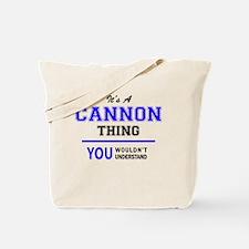 Cute Cannon Tote Bag