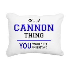 Things Rectangular Canvas Pillow