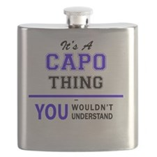 Cute Capo Flask