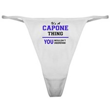 Cute Capon Classic Thong