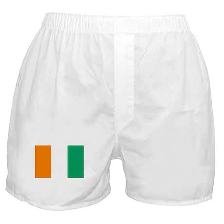 Cote D'Ivoire Flag Boxer Shorts