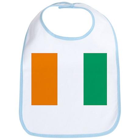 Cote D'Ivoire Flag Bib