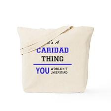 Cute Caridad Tote Bag
