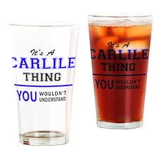 Unique Carlile Drinking Glass