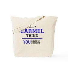 Funny Carmel Tote Bag
