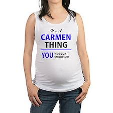 Cute Carmen Maternity Tank Top