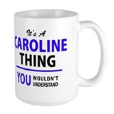 Caroline Large Mugs (15 oz)