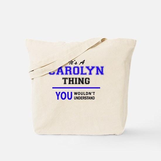 Cute Carolyn Tote Bag