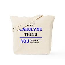 Funny Carolyn Tote Bag