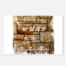 Liberty And What for All Postcards (Package of 8)