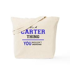 Unique Carter Tote Bag