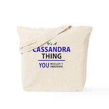 Cute Cassandra Tote Bag