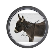 Miniature Donkey III Wall Clock