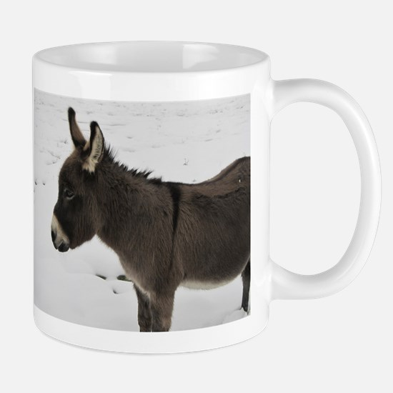 Miniature Donkey III Mugs