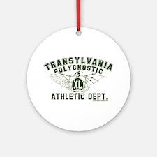 TPU Athletic Dept Ornament (Round)