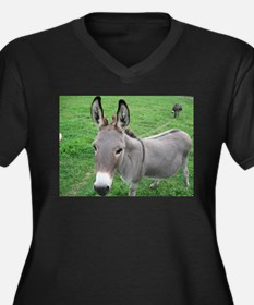Miniature Donkey Plus Size T-Shirt