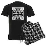 Power lifting Men's Dark Pajamas