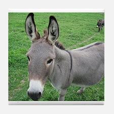 Miniature Donkey Tile Coaster
