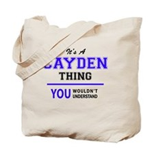 Cute Cayden Tote Bag