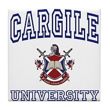 CARGILE University Tile Coaster