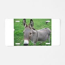 Miniature Donkey Aluminum License Plate