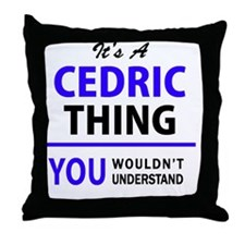 Unique Cedric Throw Pillow