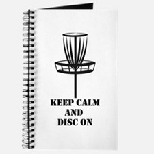 Keep Calm and Disc On Journal