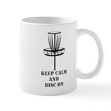 Keep Calm and Disc On Mugs