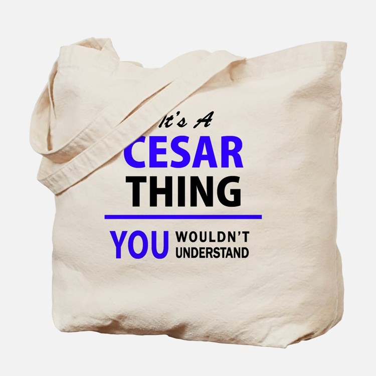 Cute Cesar Tote Bag
