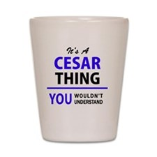 Cute Cesar Shot Glass