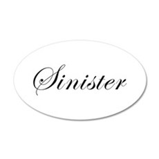 Sinister Wall Decal