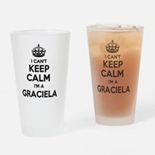 Funny Graciela Drinking Glass