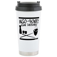 Cute Miso horny Travel Mug